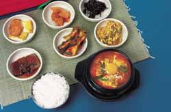 Traditional Korean Meal
